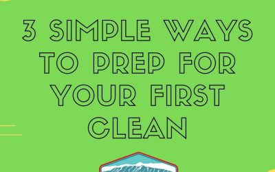 3 Easy Ways to Prep for Your First Clean with Sandia Green Clean