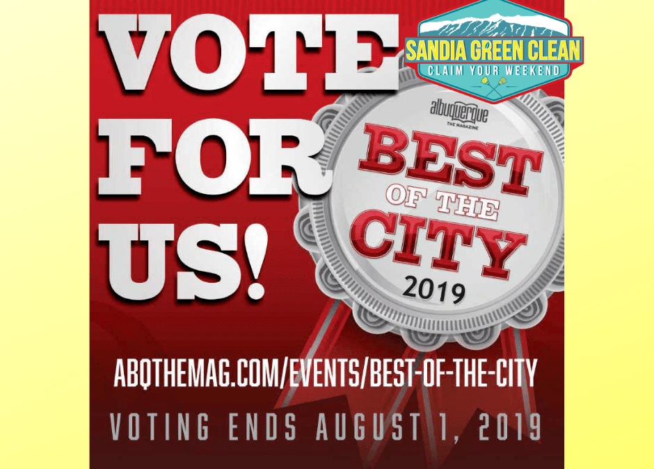 Vote for Us – Best of the City 2019