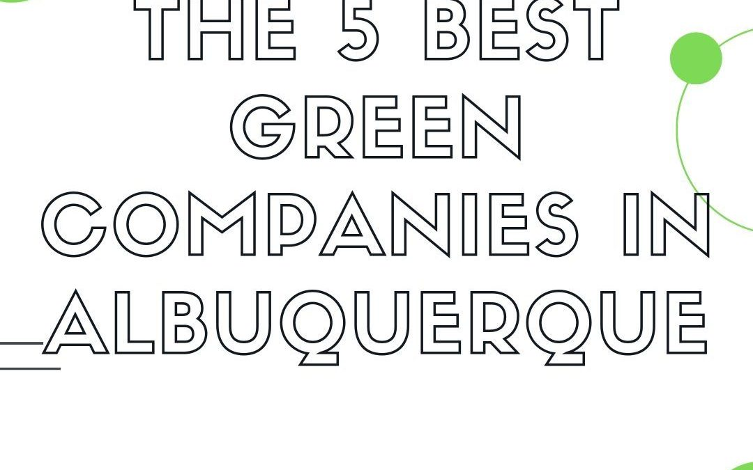 The 5 Best Green Companies in Albuquerque Offering House Cleaning Services & More