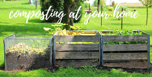ways to do composting at your home