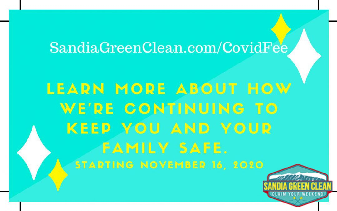 Important Update to All Sandia Green Clean Customers