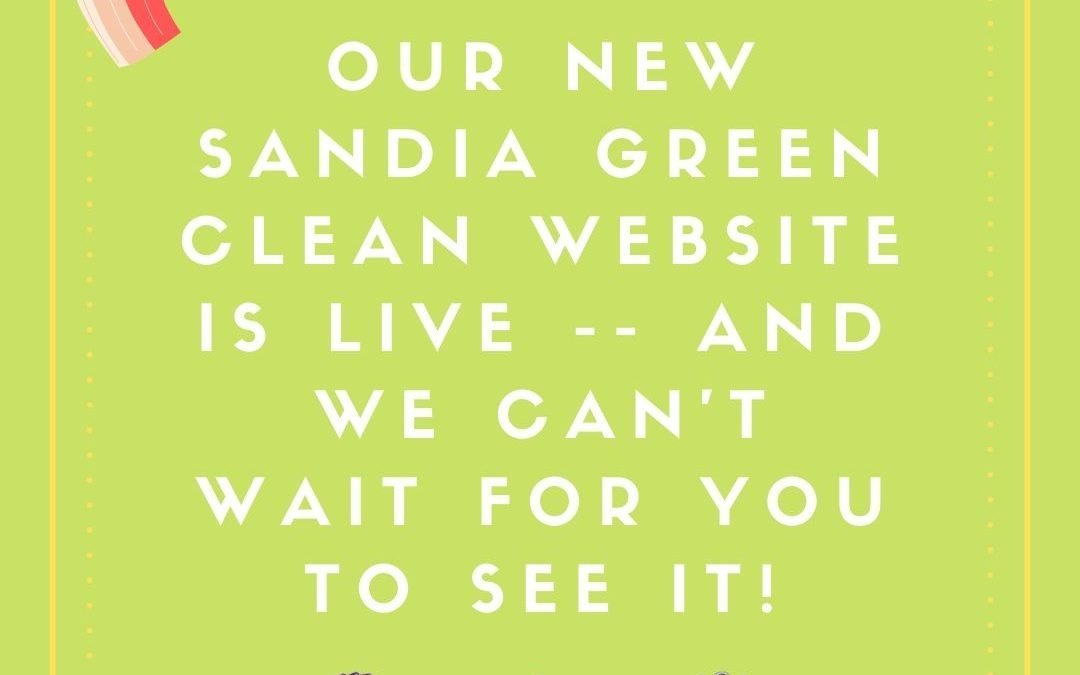 Our New Sandia Green Clean Website is Live!